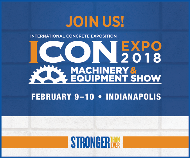 Earth Wall Products headed to NCMA's 2018 ICON EXPO!